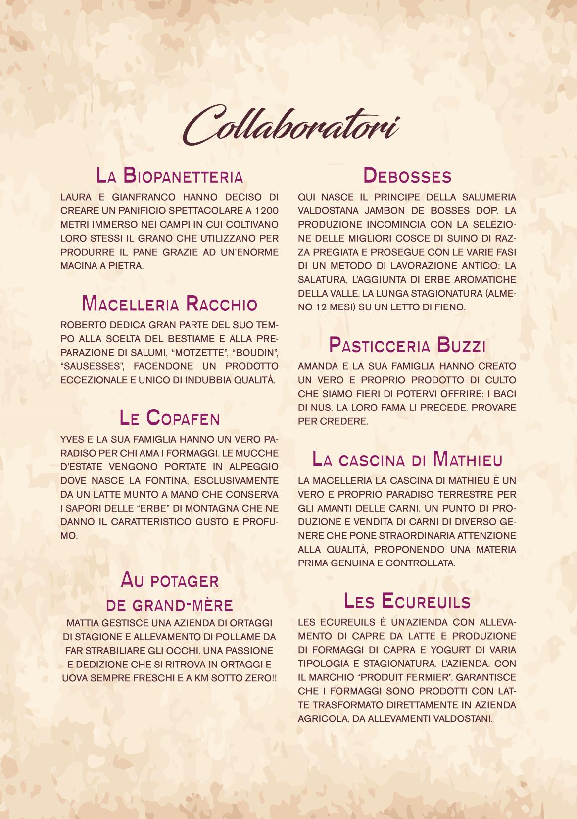 Wine note menu e vini A5-24